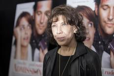 """Cast member Lily Tomlin poses at the premiere of """"Admission"""" in New York, March 5, 2013. REUTERS/Keith Bedford"""