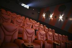 General view of the interior of a screening room at a Cinema City International movie theatre in Krakow November 26, 2009. REUTERS/Agencja Gazeta