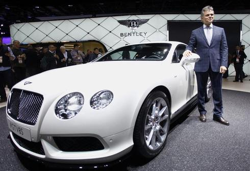 Bentley eyes ultra-exclusive auto collectors' segment