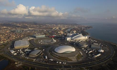 Sochi from the sky