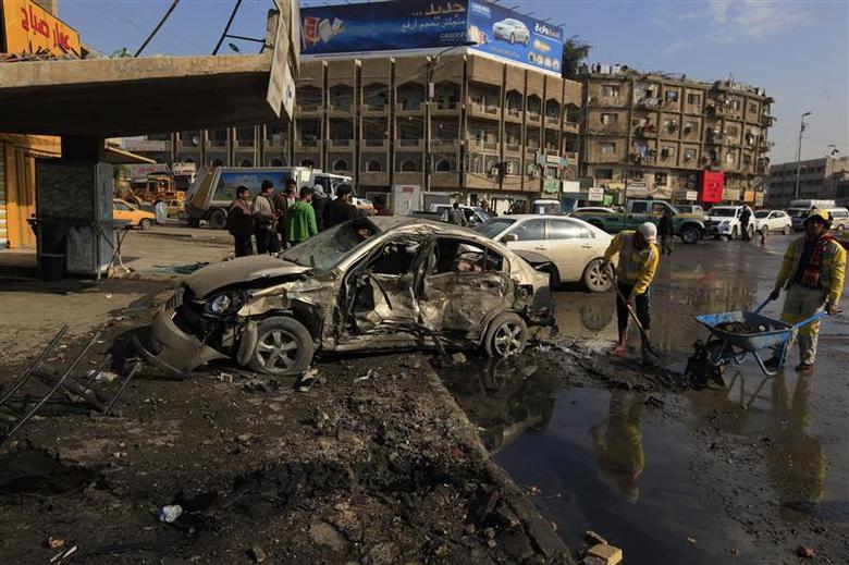 Violence kills 75 in Iraq, PM seeks world's...