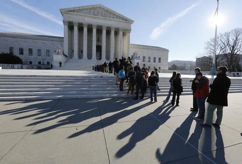 U.S. supreme court skeptical on abortion clinic buffer-zone law