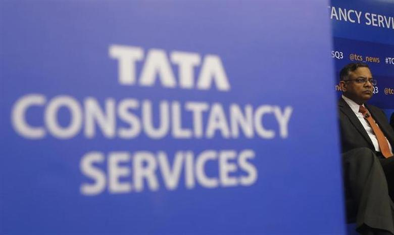 Tata Consultancy Services (TCS) Chief Executive N. Chandrasekaran listens to a question during a news conference in Mumbai January 16, 2014. REUTERS/Danish Siddiqui