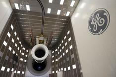 General view of General Electric GEnx-747 jet engine before a test at the GE Aviation Peebles Test Operations Facility in Peebles, Ohio, November 15, 2013. REUTERS/Matt Sullivan