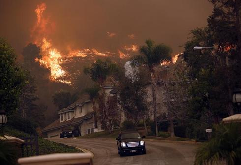 Wildfire near Los Angeles
