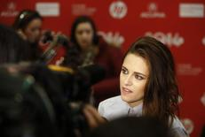 """Cast member Kristen Stewart attends the premiere of the film """"Camp X-Ray"""" at the Sundance Film Festival in Park City, Utah January 17, 2014. REUTERS/Jim Urquhart"""
