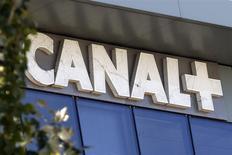 Le groupe de télévision Canal+ a proposé à l'Autorité de la concurrence de nouvelles concessions portant sur son rachat des chaînes D8 et D17 dont l'autorisation a été annulée le mois dernier par le Conseil d'Etat. /Photo d'archives/REUTERS/Charles Platiau