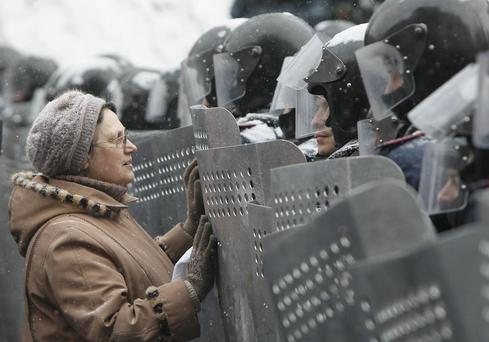 Ukraine PM says actions by