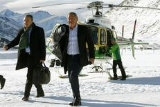 Imagen del multimillonario egipcio Samih Sawiris, dueño de Orascom, en la ciudad suiza de Andermatt. REUTERS /Arnd Wiegmann. Foto de archivo.