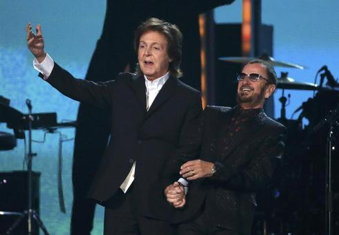 Beatles, robots and marriage: acts that rocked the Grammys
