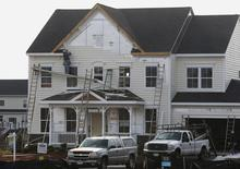 New housing construction is seen in Poolesville, Maryland, October 23, 2012 file photo. REUTERS/Gary Cameron
