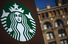 A Starbucks store is seen in New York January 24, 2014. REUTERS/Eric Thayer