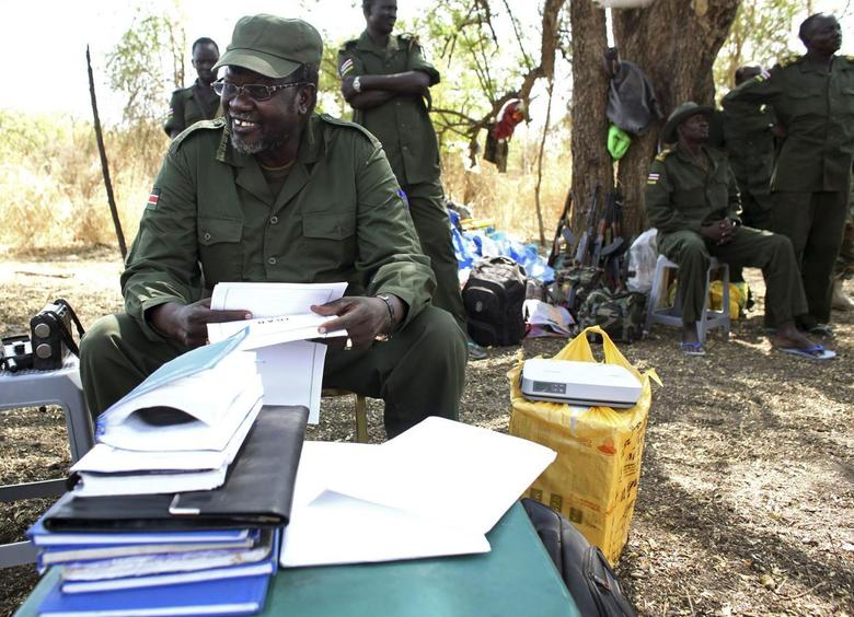 Exclusive: South Sudan rebel leader says government...