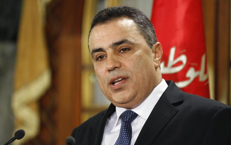 Tunisia's Prime Minister Mehdi Jomaa speaks during a news conference in Tunis January 26, 2014. REUTERS/Anis Mili