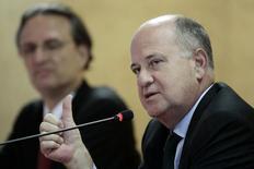 O secretário-executivo do Ministério de Minas e Energia, Márcio Zimmermann, concede entrevista coletiva em Brasília, nesta terça-feira. 04/02/2014 REUTERS/Ueslei Marcelino