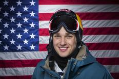 Olympic slopestyle freestyle skier Nick Goepper poses for a portrait during the 2013 U.S. Olympic Team Media Summit in Park City, Utah October 1, 2013. REUTERS/Lucas Jackson