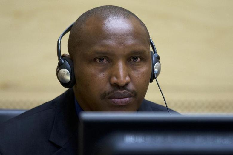 Congolese warlord Bosco Ntaganda looks on during his first appearance before judges at the International Criminal Court in the Hague March 26, 2013. REUTERS/Peter Dejong/Pool