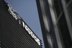El edificio corporativo de Nestlé en Ciudad de México, ene 24 2014. La inversión de las empresas en México subió un 1.7 por ciento en noviembre frente a octubre del 2013, dijo el lunes el instituto de estadísticas. REUTERS/Edgard Garrido