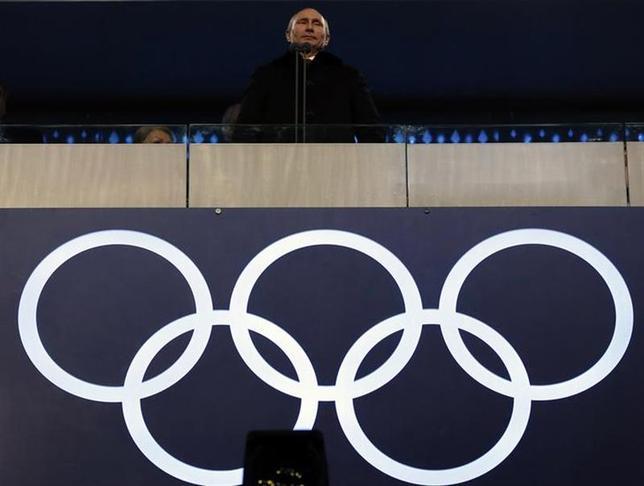 2月7日、ソチ冬季五輪は、現代のロシアを象徴するイベントとなるだろう。ただ、プーチン大統領(写真)が思い描いていたのとは異なる形で今のロシアを物語ることになりそうだ(2014年 ロイター/Phil Noble)
