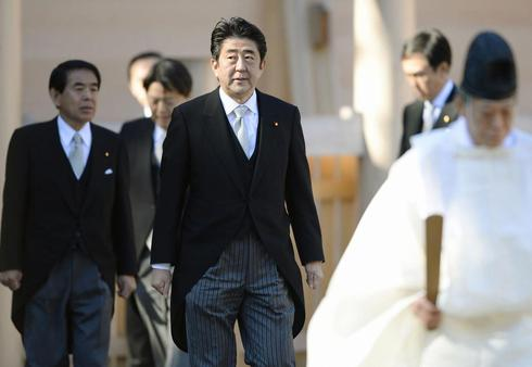 Japan on backfoot in global PR war with China after Abe shrine visit