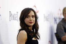 """Cast member Ellen Page poses at the premiere of """"The East"""" at the Arclight theatre in Hollywood, California May 28, 2013. The movie opens in the U.S. on May 31. REUTERS/Mario Anzuoni"""