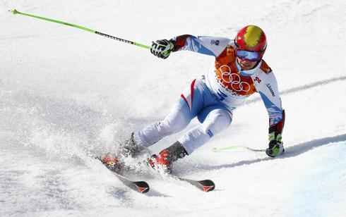Hirscher, fourth again, suffers Olympic jinx