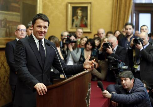 Italy's Renzi to be sworn in Saturday after unveiling cabinet