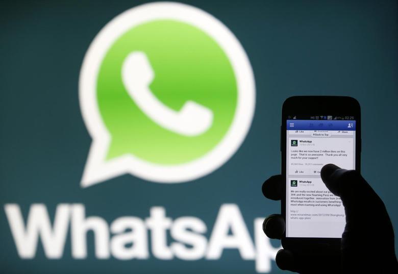 Facebook's big buy, WhatsApp messaging app, back up after