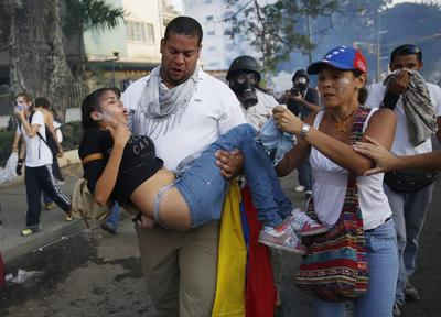 Venezuela deaths rise as unrest claims student and biker