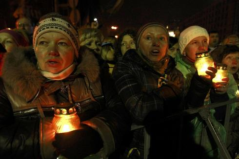 Tension turns to triumph for Ukrainian protesters