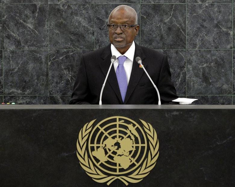 Manuel Serifo Nhamadjo, Interim President of Guinea-Bissau, addresses the 68th United Nations General Assembly at U.N. headquarters in New York, September 26, 2013. REUTERS/Justin Lane/Pool