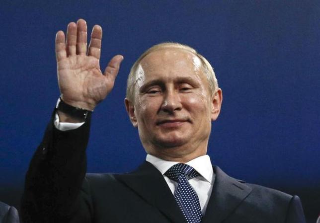 2月23日、冷戦時代を思い起こさせる東西対立に陥ったウクライナ。ロシアのプーチン大統領は今、この隣国の未来に加え、自らの政治的な遺産をも方向付けそうな決断に迫られている。ソチで撮影(2014年 ロイター/Phil Noble)