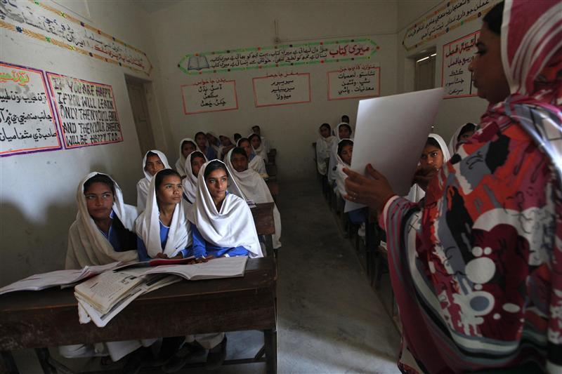Pakistani village gives girls pioneering sex education class