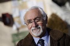 Mayor Sergio Capelli, 71, poses for a photograph in Gorreto village, Liguria region, November 29, 2013. I REUTERS/Max Rossi