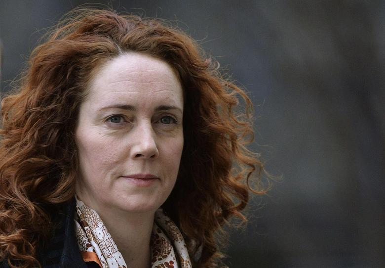 Former News International Chief Executive Rebekah Brooks arrives at the Old Bailey courthouse in London February 25, 2014. REUTERS/Toby Melville