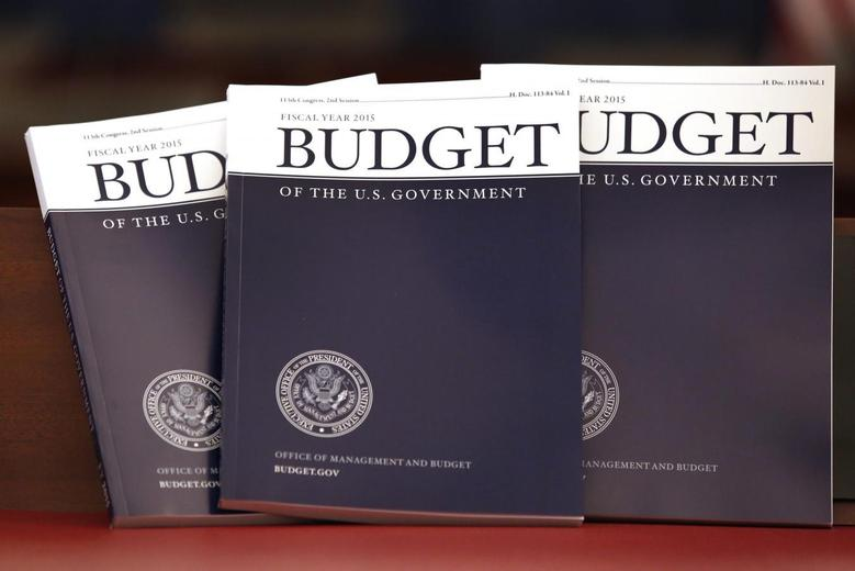 Copies of U.S. President Barack Obama's Fiscal Year 2015 Budget are delivered to The House Budget Committee on Capitol Hill in Washington, March 4, 2014. REUTERS/Yuri Gripas