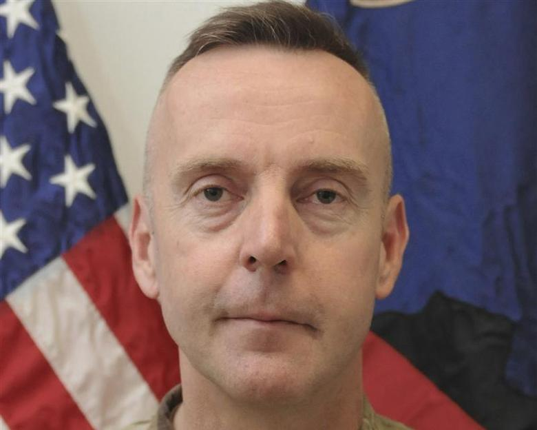 Brigadier General Jeffrey Sinclair, a U.S. Army general facing charges of forcible sodomy and engaging in inappropriate relationships, is seen in this handout file photo received September 26, 2012. REUTERS/U.S. Army/Handout via Reuters/Files