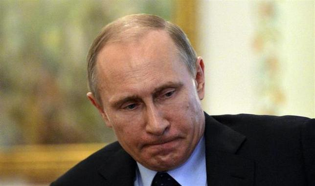3月6日、ウクライナ問題をめぐるロシアのプーチン大統領のやり方はますます危険な賭けの様相を呈し、不測の結果を招く可能性もある。写真は5日撮影(2014年 ロイター)