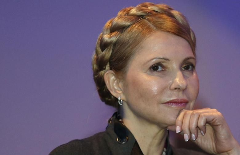Ukrainian opposition politician Yulia Tymoshenko listens to a speaker during the European People's Party (EPP) Elections Congress in Dublin March 7, 2014. REUTERS/Suzanne Plunkett