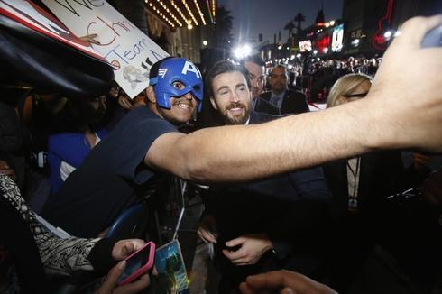 Captain America premiere