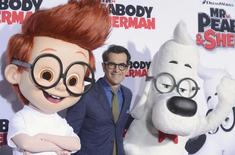 """Cast member Ty Burrell attends the premiere of the film """"Mr. Peabody and Sherman"""" in Los Angeles March 5, 2014. REUTERS/Phil McCarten"""