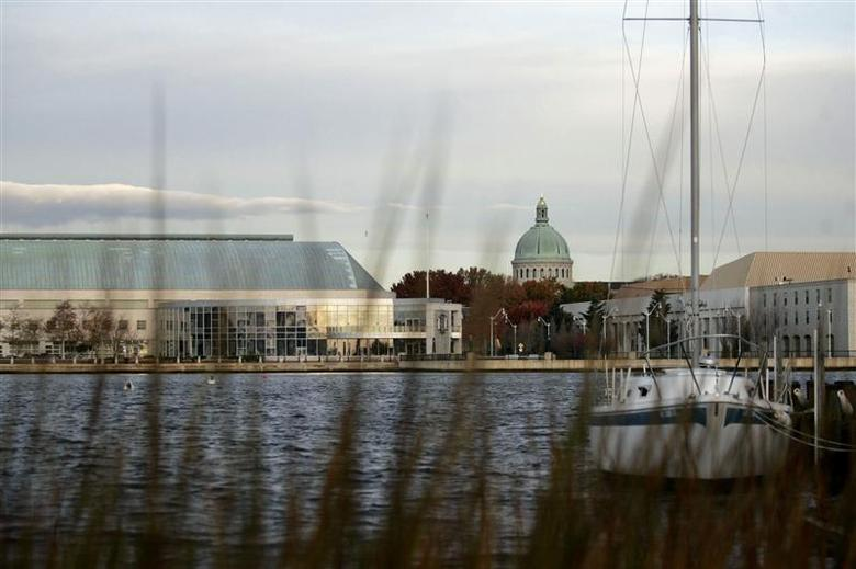 The U.S. Naval Academy is seen in Annapolis, Maryland in this file photo taken November 27, 2007. REUTERS/Molly Riley/Files