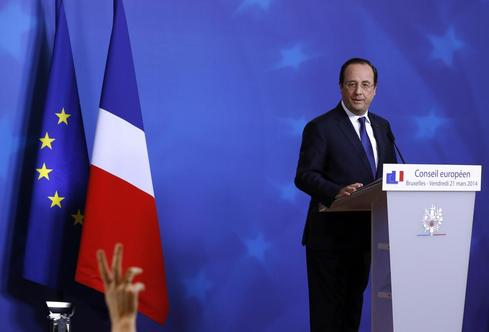 Hollande braces for pain in French local vote, far right set for gains