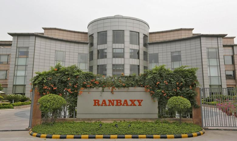 A general view of the office of Ranbaxy Laboratories is pictured at Gurgaon, on the outskirts of New Delhi, June 13, 2013. REUTERS/Adnan Abidi