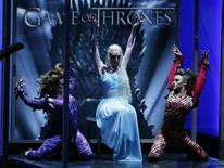 """A dance number is performed in tribute to outstanding drama series nominee """"Game of Thrones"""" at the 65th Primetime Emmy Awards in Los Angeles September 22, 2013. REUTERS/Mike Blake"""