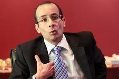 Marcelo Odebrecht, diretor presidente do grupo Odebrecht, durante entrevista à Reuters, em Lima. O diretor afirmou que um time da companhia está avaliando a entrada de empresas do conglomerado no leilão de energia A-0 e no certame pela concessão da BR-153. 02/04/2014 REUTERS/Enrique Castro-Mendivil