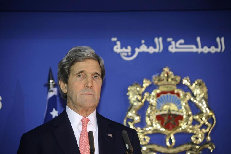 Kerry warns U.S. is evaluating role in Middle East...