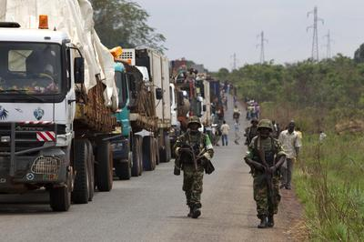 U.N. chief says Central African Republic peacekeepers 'overwhelmed'