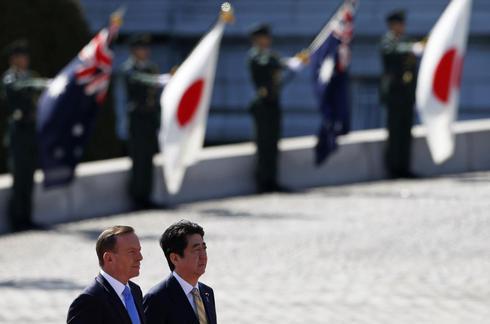 Japan, Australia clinch trade deal as U.S.-Tokyo talks heat up