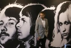 Bjoern Ulvaeus, member of the legendary Swedish pop group ABBA poses at the new 'ABBA - The Museum' in Sweden's capital Stockholm May 6, 2013. REUTERS/Arnd Wiegmann